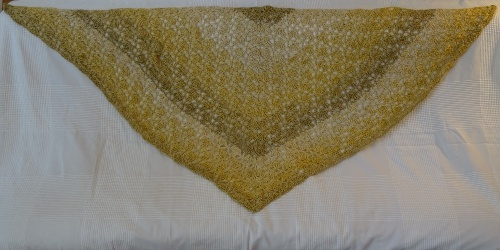 Scarf Two - gold / yellow - 30 EUR